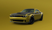 Dodge Challenger 2021 : une nouvelle peinture dorée