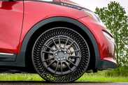 GM : un nouveau pneu sans air
