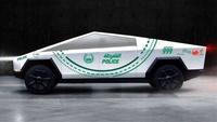Tesla Cybertruck : une commande pour la police de Dubai